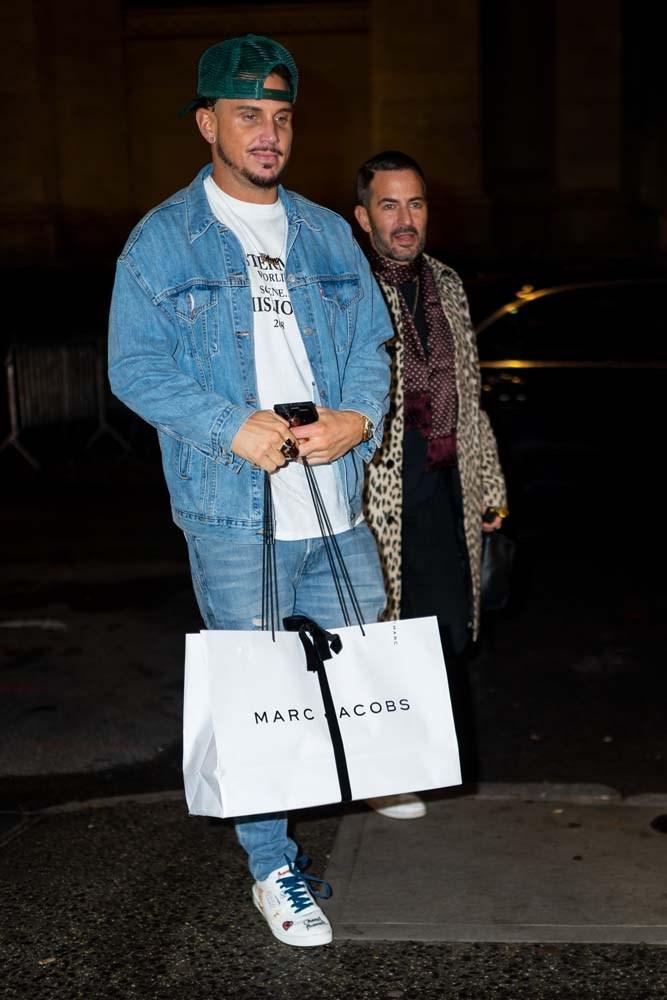 Char DeFrancesco and Marc Jacobs.