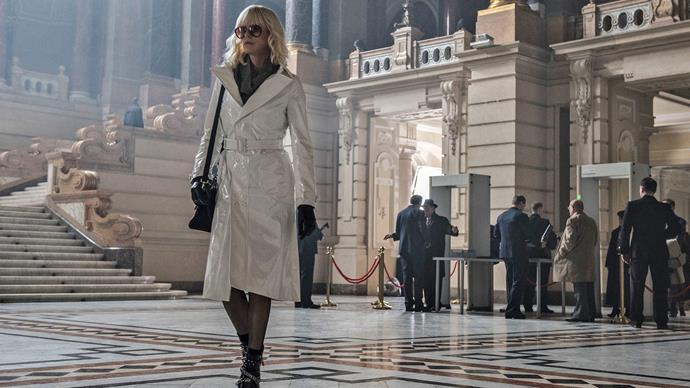 **Atomic Blonde (15/05/2019)** <br><br> An undercover MI6 agent is sent to Berlin during the Cold War to investigate the murder of a fellow agent and recover a missing list of double agents.