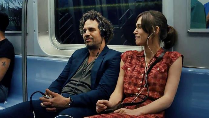 **Begin Again (1/05/2019)** <br><br> A chance encounter between a disgraced music-business executive and a young singer-songwriter, new to Manhattan, turns into a promising collaboration between the two talents.