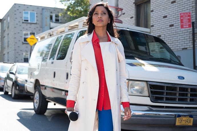 "**Good Sam (16/05/2019)** <br><br> When a mysterious good samaritan, aka ""Good Sam,"" leaves $100,000 cash on seemingly random doorsteps, New York City TV news reporter Kate Bradley (Tiya Sircar) sets out discover Good Sam's true identity and motive, turning her personal life upside down."