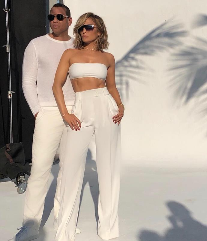 "**She has a workout buddy**<br><br>  Although working out with a partner may not necessarily be a direct contributor to a chiselled six-pack, having someone you're accountable to and will motivate you while you both sweat always helps you to be consistent with your training. In J.Lo's case, her [fiancée](https://www.harpersbazaar.com.au/bazaar-bride/jennifer-lopez-engaged-alex-rodriguez-18260|target=""_blank"") Alex Rodriguez is her [go-to](https://people.com/health/jennifer-lopez-alex-rodriguez-couples-workout/