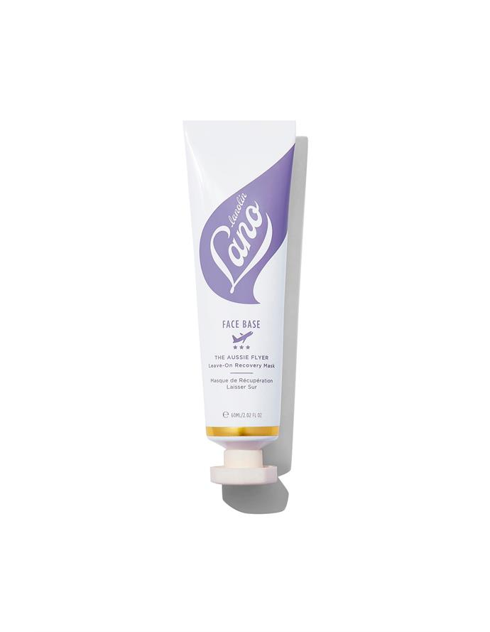 "**The Aussie Flyer Leave-On Recovery Mask, $26 at [Mecca](https://www.mecca.com.au/lanolips/face-base-the-aussie-flyer-leave-on-recovery-mask/I-038979.html|target=""_blank"").** <br> The ultra-hydrating leave-on mask is the ideal solution for dried out and travel weary skin, delivering an instant pick-me-up and high dose of radiance. <br> <br> *Follow [**Bazaar Beauty on Pinterest**](https://www.pinterest.com.au/bazaaraustralia/) for the best in skincare trends, treatments, products and more!*"