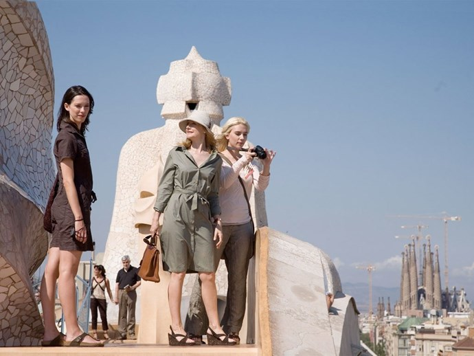 ***Vicky Cristina Barcelona***<br><br>  Set in, as the name suggests, the Catalan city of Barcelona, this Woody Allen film is perfect for those heading to (or dreaming of) sunny Spain. It pairs perfectly with a temperanillo, all your *amigas* and generous plates of tapas.