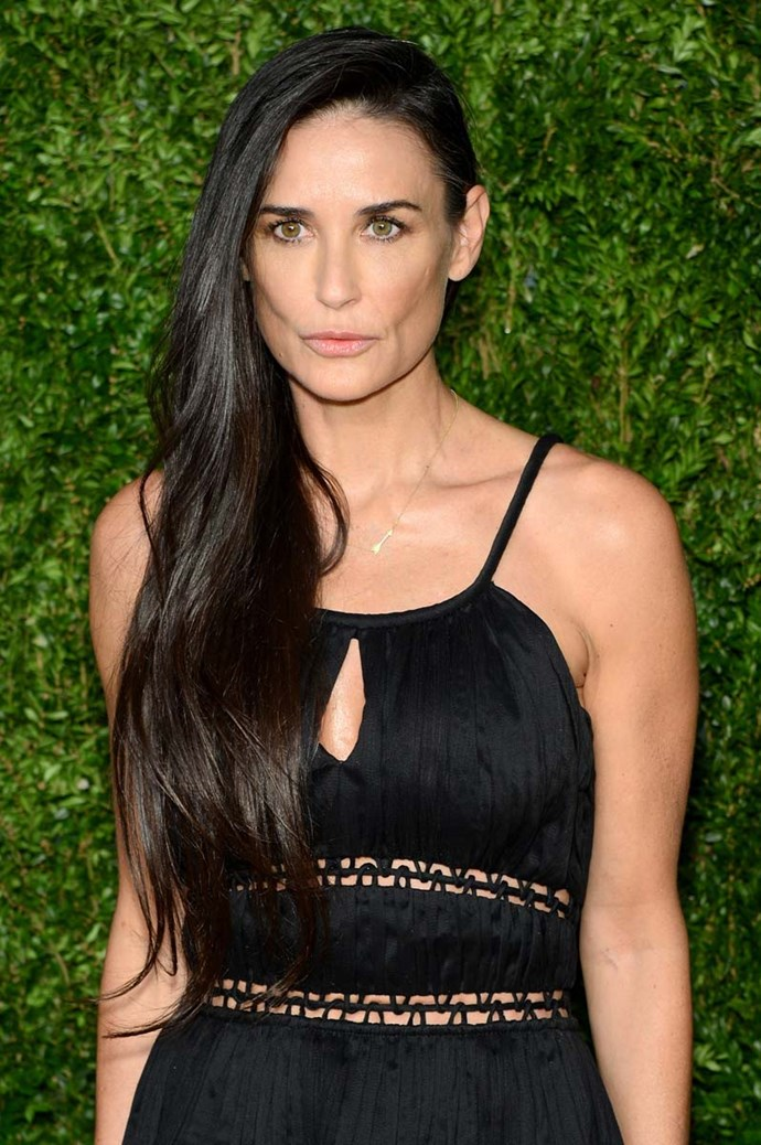 ***Demi Guynes > Demi Moore***<br><br> Although they are no longer together, Demi Moore kept her first husband, Freddy Moore's, last name professionally.