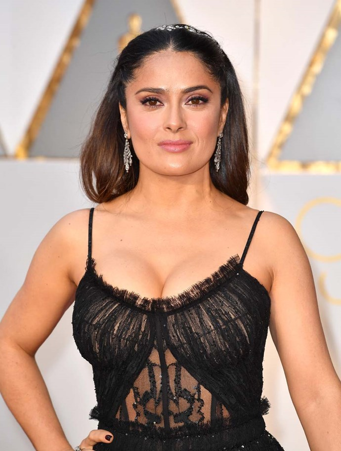 "***Salma Hayek > Salma Pinault*** <br><br> Salma Hayek revealed it was her daughter, Valentina, who influenced her to change her name. ""I like it,"" she said. ""It just brings the family together."""