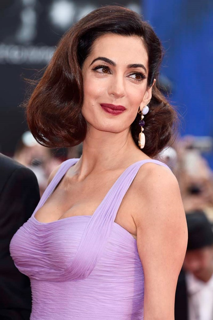 ***Amal Alamuddin > Amal Clooney***<br><br> Human rights lawyer Amal Alamuddin changed her name to Amal Clooney after marrying George in 2014.