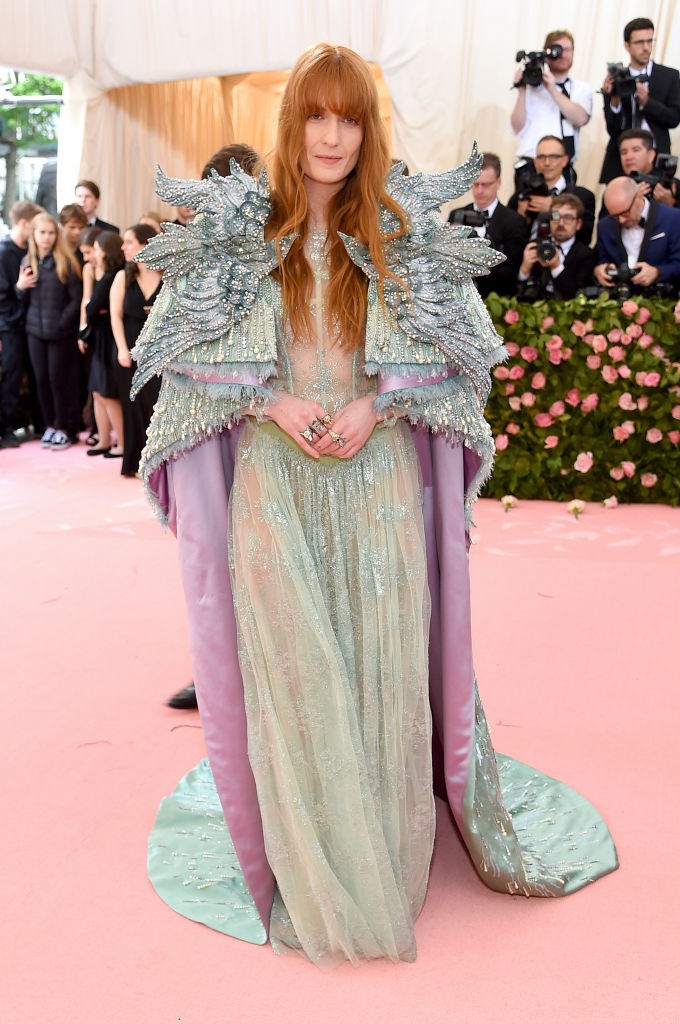 Florence Welch in Gucci.