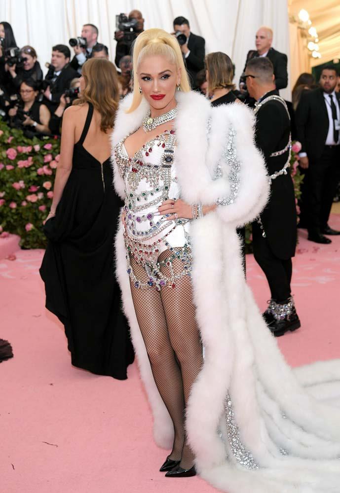 Gwen Stefani in Moschino.