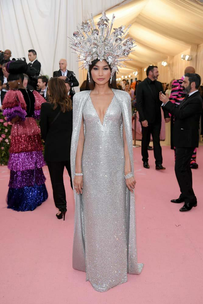 Gemma Chan in Tom Ford.