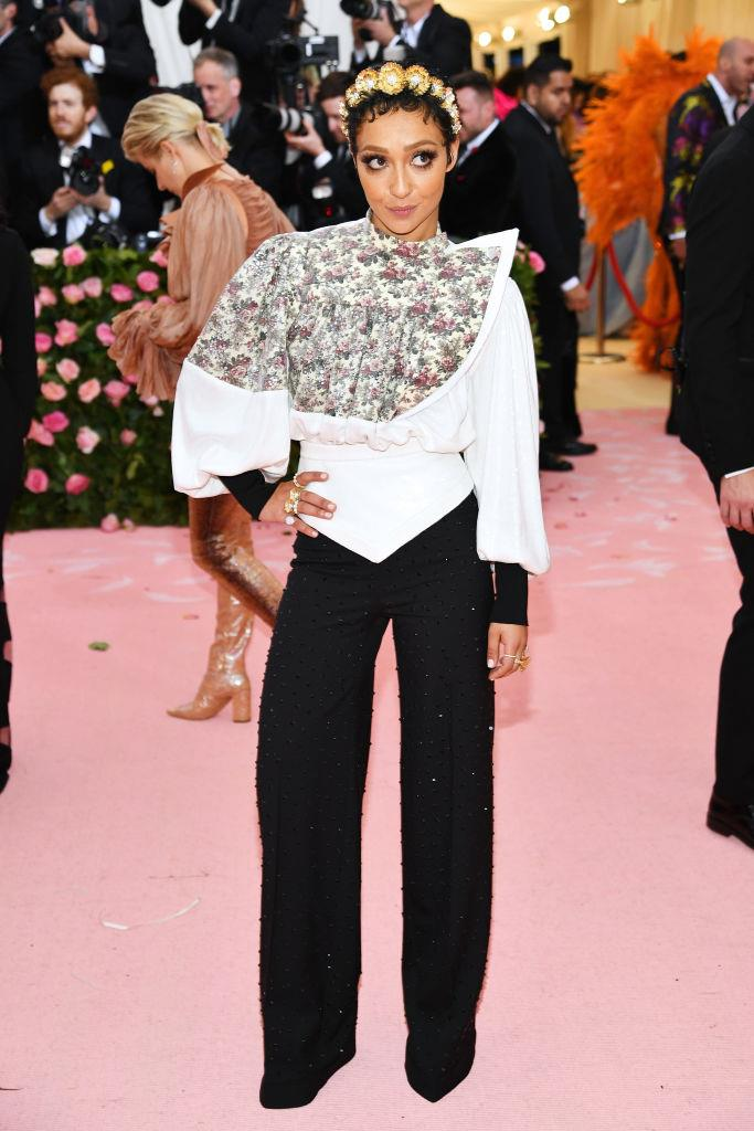 Ruth Negga in Louis Vuitton.