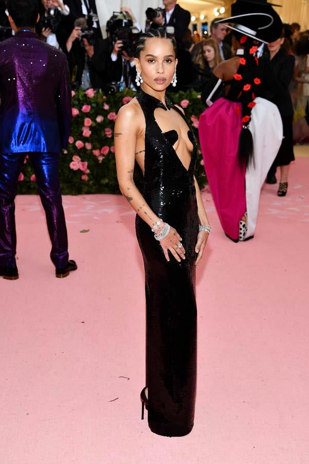"**Zoë Kravitz in Saint Laurent** <br><br> ""She looks like perfection every time. So effortless, yet on brief. Sexy and elevated."" - Caroline Tran, fashion editor"