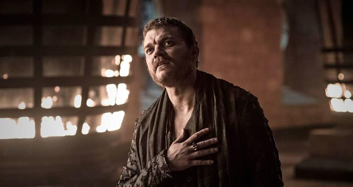 **EURON GREYJOY: DEAD** <br><br> Cause of death? Stabbed by Jaime Lannister.