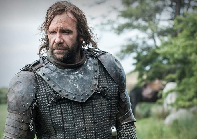 **THE HOUND AKA SANDOR CLEGANE: DEAD** <br><br> Cause of death? Jumping to his death in a pit of fire in order to kill his monstrous brother, The Mountain.