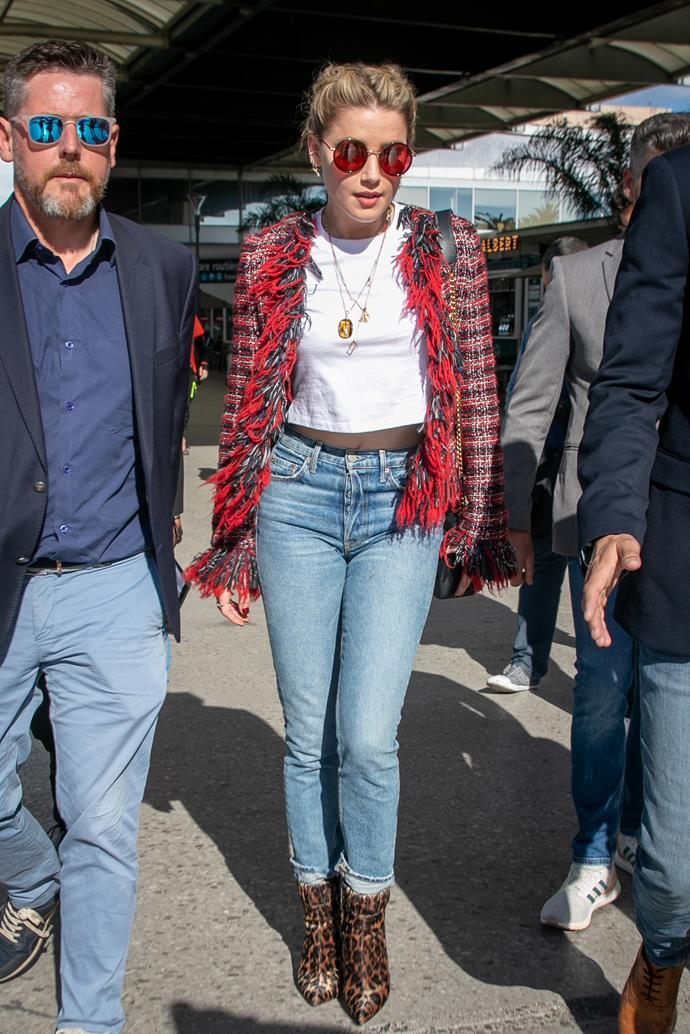 Amber Heard in 2019