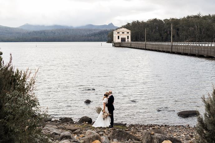 **On the significance of the location:** We had previously visited Pumphouse Point in 2017 and fell in love with the people and of course the location… secluded heaven!! We knew we wanted a destination wedding, and this was the perfect weekend away. Remote enough to really have everyone completely switch off and relax. It was all about showing off this slice of heaven to all our friends and family… most of which now want to visit again.