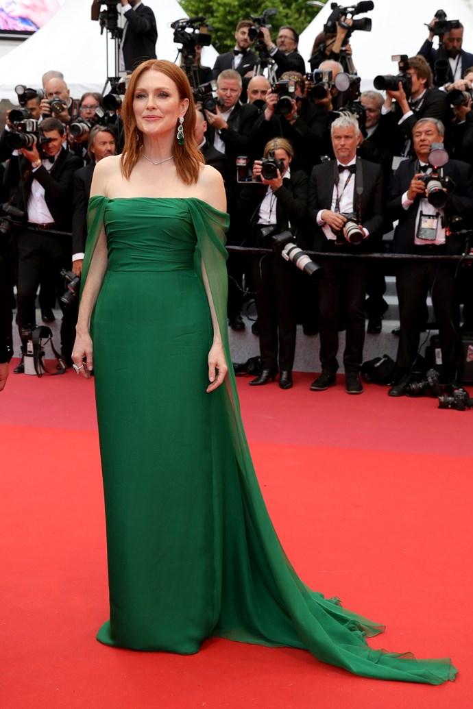 ***Julianne Moore in Dior Haute Couture***