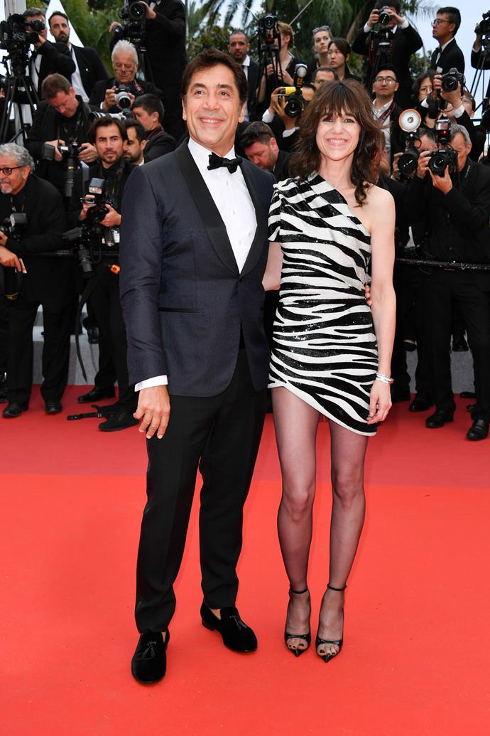 ***Javier Bardem and Charlotte Gainsbourg***