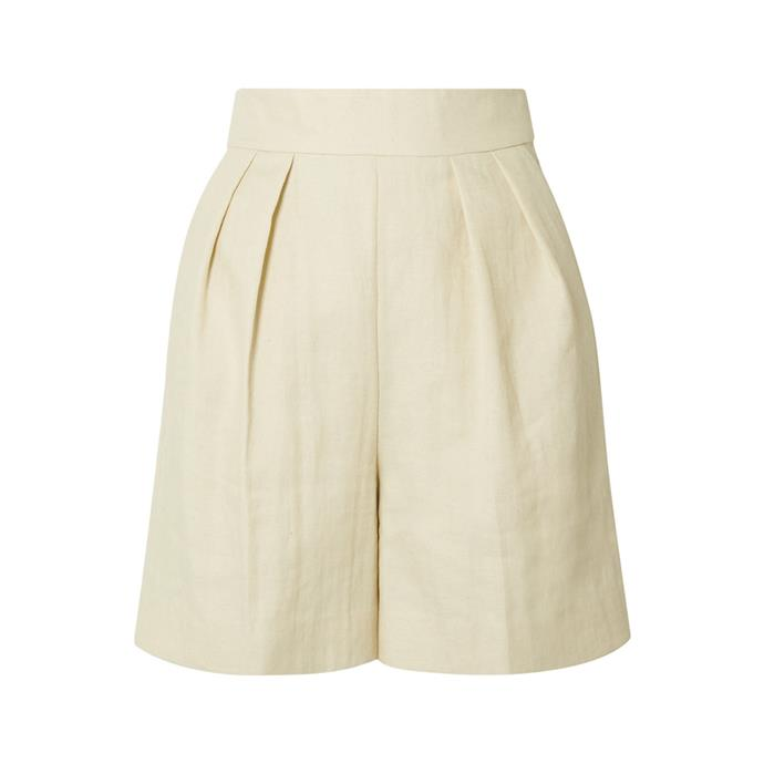 """**A pair of shorts**<br><br> While we won't object to you slipping your old-faithful denim cut-offs into your suitcase (in fact, you might say we encourage it), a pair of great mid-length shorts will be your saviour this trip. Pair with a white tee and sandals for breezy sightseeing or with a blouse and heels for a night out.<br><br> Shorts by Theory, $389 at [NET-A-PORTER](https://www.net-a-porter.com/au/en/product/1132115/Theory/pleated-woven-shorts