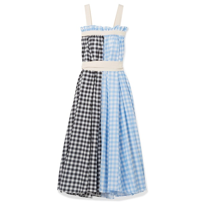 """***A breezy dress***<br><br> For spontaneous dinner reservations and museum dates, a summer dress must be arranged. We recommend a midi to maxi length, an easy-to-wear print and a forgiving waist for those pasta dinners.<br><br> Dress by Lee Mathews, $831 at [NET-A-PORTER](https://www.net-a-porter.com/au/en/product/1110543/Lee_Mathews/clara-grosgrain-trimmed-checked-cotton-and-silk-blend-maxi-dress