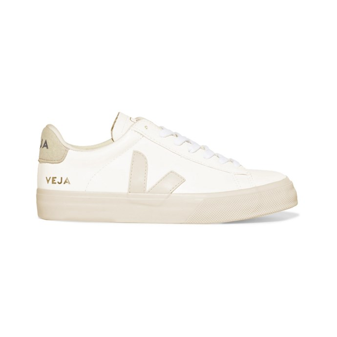"""***Chic sneakers***<br><br> For dinners, for exploring, for airport dashes and more, sneakers top the list. Make yours neutral and ultra-chic.<br><br> Sneakers by Veja, $182 at [NET-A-PORTER](https://www.net-a-porter.com/au/en/product/1131282