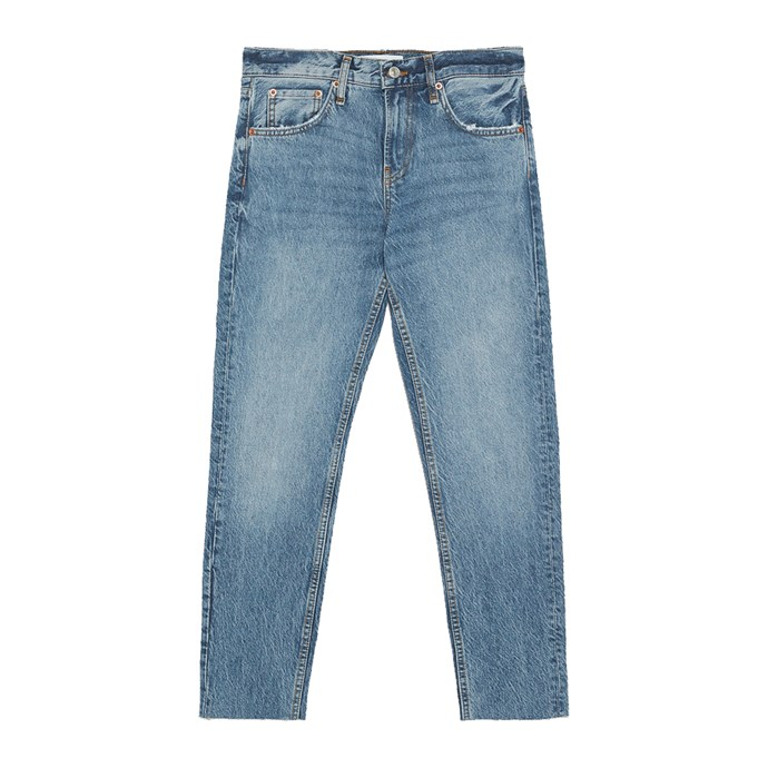 """***Straight blue jeans***<br><br> Black jeans are too hot and white are too dangerous—well-cut blue jeans, to pair with blouses and tees, are the only answer.   <br><br> Jeans, $99 at [ZARA](https://www.zara.com/au/en/jeans-zw-premium-cigarette-sunset-blue-p06840046.html?v1=8493116&v2=1009606