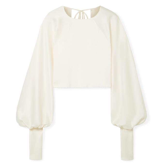 """**A silk blouse**<br><br> For nights when you can handle the heat of a sleeve, a beautiful silk blouse will take you from candle-lit dinners to night time strolls. <br><br> Blouse by Orseund Iris, $795 at [NET-A-PORTER](https://www.net-a-porter.com/au/en/product/1155479/orseund_iris/drama-cropped-satin-blouse
