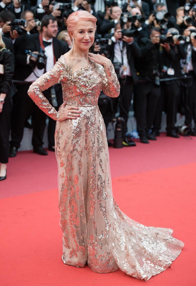 ***Dame Helen Mirren in Elie Saab***
