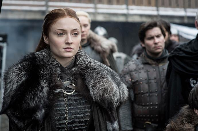 **Sansa Stark:** One of the few silver linings in an otherwise fairly bleak episode was Sansa Stark taking her true place as Queen in the North, now its own independent kingdom thanks to her bargaining skills.