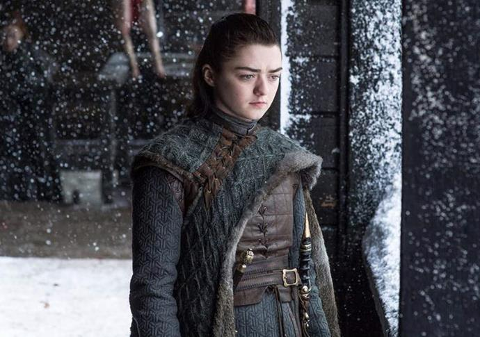 **Arya Stark:** The youngest Stark sister is done with the Seven Kingdoms and was last seen sailing west of Westeros into uncharted territory.