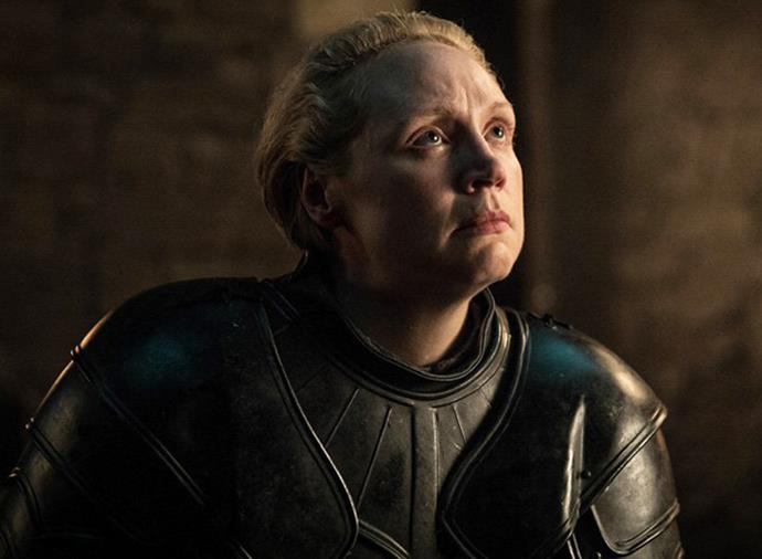 **Ser Brienne of Tarth:** After being ruthlessly dumped by Jaime Lannister, Brienne somehow found it in her heart to pen a tribute to him. That, and she earned her place on the small council as Lord Commander of the Kingsguard.