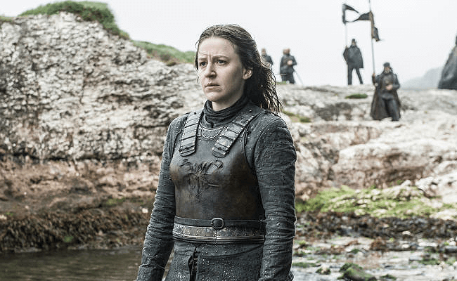 **Yara Greyjoy:** Theon's sister was officially the sole remaining Greyjoy family member after Euron's death. At the end of the series, she's alive and well and one of the lords of Westeros, having clearly assumed the title of leader of the Iron Born.