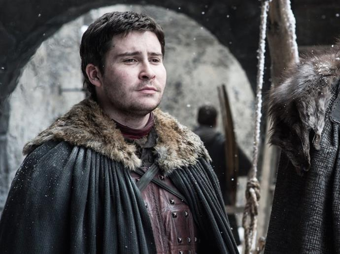 **Podrick Payne:** In case you missed him pushing Bran's wheelchair, Podrick earned himself the royal of squire to the king.