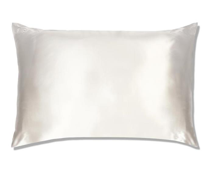"***Silk Pillowcase by Slip, $85 from [Slip](https://www.slip.com.au/collections/pillowcases-queen/products/pillowcase-white-queen-zippered|target=""_blank""