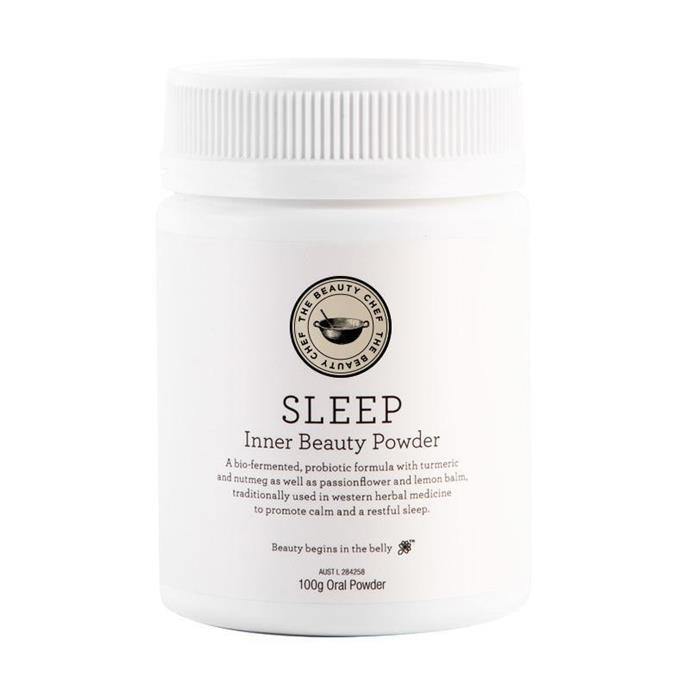 "**Sleep Inner Beauty Powder by The Beauty Chef, $55 from [The Beauty Chef](https://thebeautychef.com/products/sleep-inner-beauty-powder|target=""_blank""