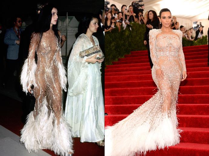***Cher and Kim Kardashian West***