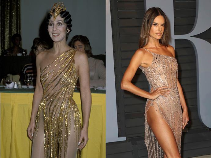***Cher and Alessandra Ambrosio***