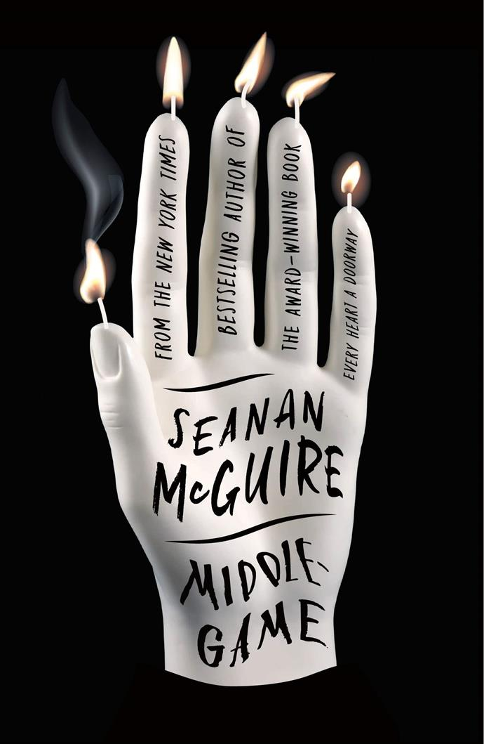 "*Middlegame* by Seanan McGuire<br><bR> A fantasy novel by legendary fantasist Seanan McGuire, *Middlegame* tells the story of twins Roger and Dodger and their creator Reed, and their fraught path to godhood. <br><br> *Middlegame*, $33.50 at [Angus & Robertson](https://www.angusrobertson.com.au/books/middlegame-seanan-mcguire/p/9781250195524|target=""_blank""