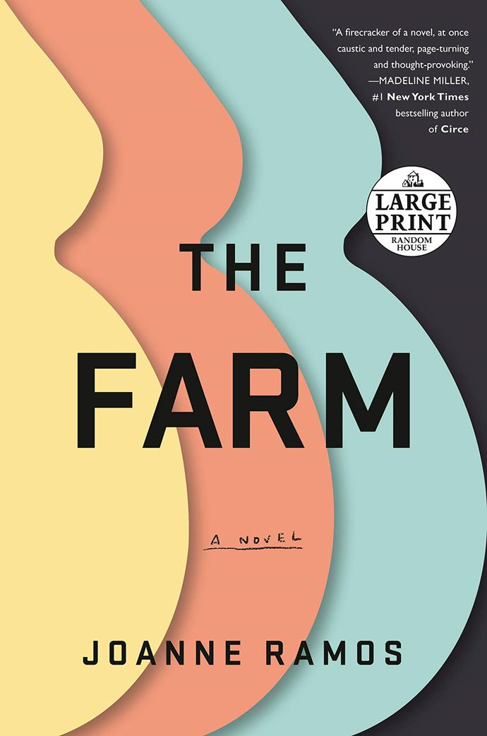 "*The Farm* by Joanne Ramos<br><br> Revolving around two characters, Mae Yu, who runs a luxury fertility retreat, and Jane, a young immigrant working for a better life, *The Farm* is dark, sharp and addictive.<br><Br> *The Farm*, $23.95 at [Booktopia](https://www.booktopia.com.au/the-farm-joanne-ramos/prod9781526605245.html|target=""_blank""
