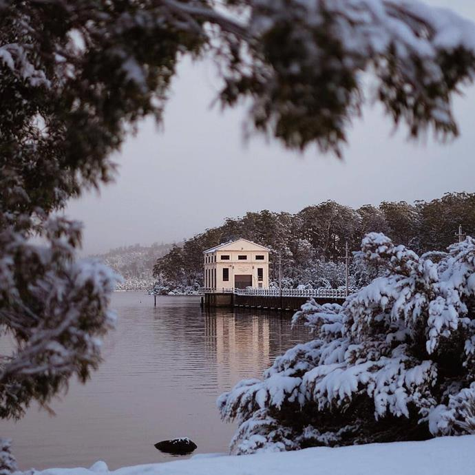 ***Pumphouse Point, Lake St Clair, Tasmania***