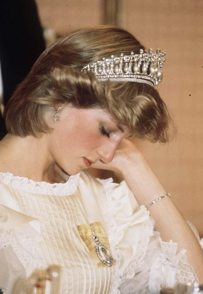 ***No tiaras before 18***<br><br> As an unwritten rule, tiaras aren't worn by royal ladies under the age of 18. In fact, many princesses and ladies were gifted tiaras for their birthday, as it meant they could start wearing them to events.