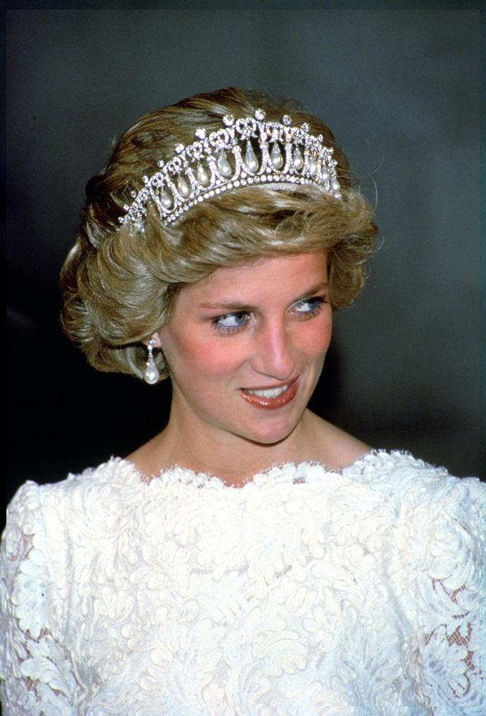 ***Tiaras are rarely taken overseas***<br><br> Unless the Queen orders it, ladies usually skip tiaras for events overseas—no matter how important they are. A few rare exceptions include foreign royal weddings and diplomatic visits.