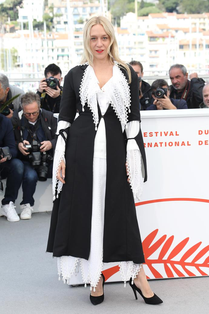 "***Chloë Sevigny in Loewe***<br><br> ""I'm a Chloë Sevigny fan girl for life—and have loved everything she's worn this week. The Marine Serre! The off-duty Chanel! My favourite was her deconstructed Loewe number, so chic."" Grace O'Neill, fashion features director."