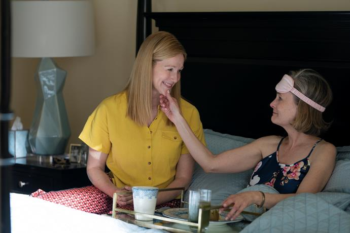 **Tales of the City (7/06/2019)** <br><br> Inspired by the books of Armistead Maupin, Netflix Limited Series Armistead Maupin's Tales of the City begins a new chapter in the beloved story. Mary Ann (Laura Linney) returns to present-day San Francisco and is reunited with her daughter Shawna (Ellen Page) and ex-husband Brian (Paul Gross), twenty years after leaving them behind to pursue her career. Fleeing the midlife crisis that her picture-perfect Connecticut life created, Mary Ann is quickly drawn back into the orbit of Anna Madrigal (Olympia Dukakis), her chosen family and a new generation of queer young residents living at 28 Barbary Lane.