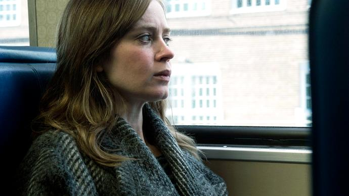 **The Girl on the Train (25/06/2019)** <br><br> A divorcee (played by Emily Blunt) becomes entangled in a missing persons investigation that promises to send shockwaves throughout her life.