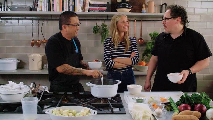 **The Chef Show (7/06/2019)** <br><br> Actor/director Jon Favreau and award-winning Chef Roy Choi reunite after their critically acclaimed film *Chef* to embark on a new adventure. The two friends experiment with their favourite recipes and techniques, baking, cooking, exploring and collaborating with some of the biggest names in the entertainment and culinary world. From sharing a meal with the Avengers cast in Atlanta, to smoking brisket in Texas with world-renowned pitmaster Aaron Franklin, to honoring the legendary food critic Jonathan Gold in Los Angeles—Favreau and Choi embrace their passion for food, but more importantly their love for bringing people together over a delicious meal.
