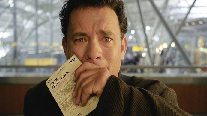 **The Terminal (1/06/2019)** <br><br> An Eastern European tourist unexpectedly finds himself stranded in JFK airport, and must take up temporary residence there.