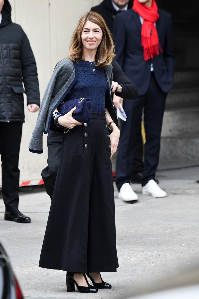 "***Sophia Coppola***<br><br>  The *Marie Antoinette* director is all for simplifying her wardrobe so she can get on with work, previously stating that having ""a kind of uniform helps"".<br><br>  ""There are a few things I wear all the time – Acne jeans, the staples that you just know you like and don't have to think about too much. And then it's fun to dress up for special occasions,"" she told *[The Telegraph](https://www.telegraph.co.uk/fashion/people/sofia-coppola-shares-her-style-secrets-a-kind-of-uniform-helps/