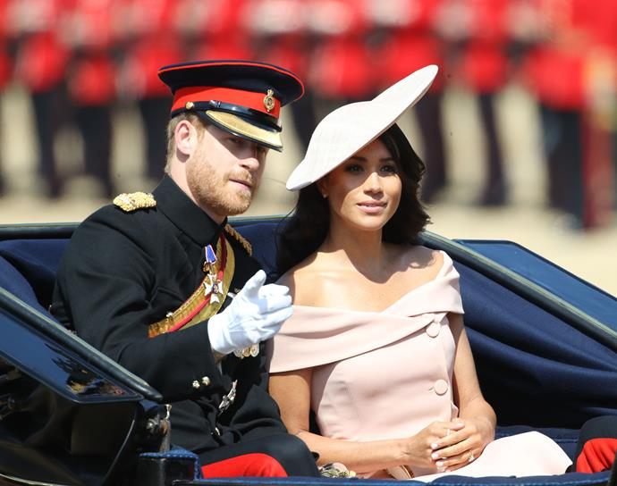 The Duke and Duchess of Sussex attending in 2018.