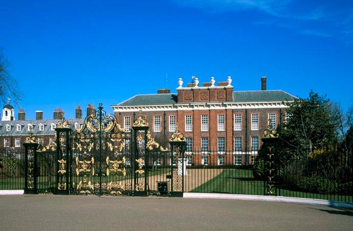 **The Property:** Kensington Palace.<br><br> **The Location:** London, England.<br><br> **The History:** Set within the Kensington Gardens, Kensington Palace is a large property that houses several royals, including the Duke and Duchess of Cambridge and their three children. <br><br> **Who Lives There:** The Duke and Duchess of Cambridge; Princess Eugenie and Jack Brooksbank; the Duke and Duchess of Gloucester; the Duke and Duchess of Kent; and Prince and Princess Michael of Kent..