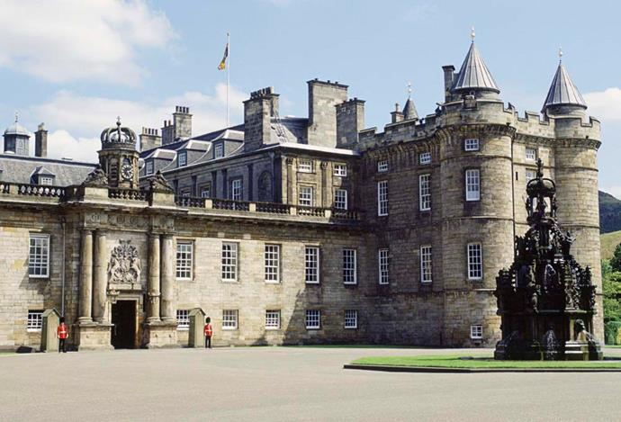 **The Property:** Palace of Holyroodhouse.<br><br> **The Location:** Edinburgh, Scotland.<br><br> **The History:** This historic castle is the official residence of Queen Elizabeth in Scotland, where she spends one week per year.<br><br> **Who Lives There:** The Queen and the Duke of Edinburgh.